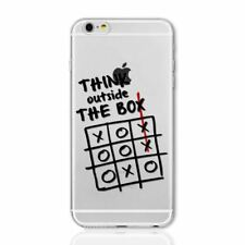 QUOTES WORD SAYING DESIGN CLEAR TPU GEL CASE COVER FOR IPHONE 8 8+ 7 7+ 6S 6+ SE