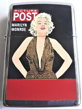 "ZIPPO "" Marilyn Monroe - Picture Post (1995) ""   RARITÄT SAMMLERSTÜCK"
