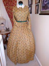 Civil War Reenactment Day Dress Size 18