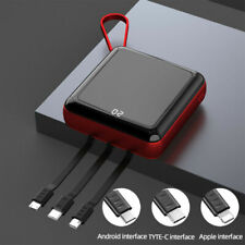 Mini 900000mAh Power Bank UltraThin Usb Portable External Battery Backup Charger