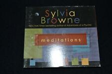 Mediations Sylvia Browne CD Good Condition FREEPOST IN AUS