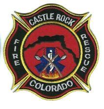 Castle Rock (Douglas County) CO Colorado Fire Rescue Dept. patch - NEW!