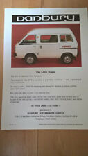 Bedford Rascal based Danbury Fun Camper Little Rogue 4WD Sales Brochure Leaflet