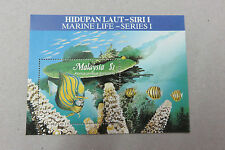 Malaysia 1988 Marine Life Miniature Sheet MINT MNH