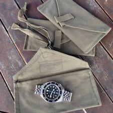 Pochette pouch rangement pour montre militaire (Auricoste CWC Tudor Dodane iwc)