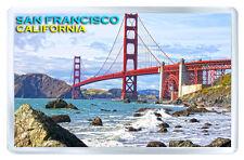 SAN FRANCISCO CALIFORNIA GOLDEN GATE FRIDGE MAGNET SOUVENIR IMAN NEVERA
