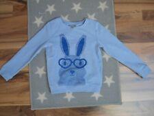 jbc Pullover Pulli Junge Jungen Gr: 122 Sweatshirt süß hellblau Ostern Osterhase