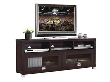 NEW TV Stand Entertainment Media Center Home Theater Console Wood Furniture