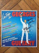 Album vinyle 33 t. Les Top de Georges Guétary dédicacé, opérette, french music