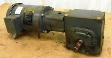 BALDOR AC MOTOR, VM3554T, 1.5 HP, GEAR REDUCER, GLF1526BJ, LF-926-15-B7-J, 15:1