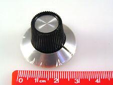 """Ridged Manopola di controllo con l'alluminio Gon na & indicatore di linea 1/4 """"Albero kn5gs om325"""