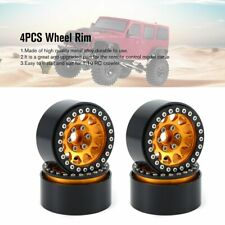 1.9 Metal Beadlock Wheel Rim for 1/10 Traxas TRX4 D90 Axial SCX10 & SCX10 II
