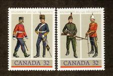 Canada--#1007-08 MNH--Army Regiments--1983