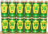 Victoria Bitter 12 RUGBY cans set from AUSTRALIA (37,5cl)