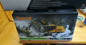 Tigercat 870c feller buncher new1/32 scale with metal tracks one kind of build