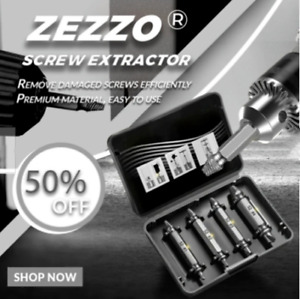 Zezzo  Biservice Screw Remover Limited Time 50%OFF