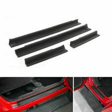 New 4PCS Tür Einstiegsleisten Für 2007-2016  Wrangler JK 4 Door Black ABS! AH S9