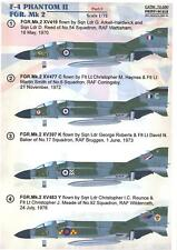 Print Scale Decals 1/72 MCDONNELL DOUGLAS F-4 PHANTOM II FGR. Mk.2 Part 1