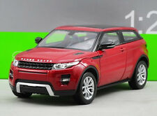 Welly 1:24 Land Rover Range Evoque Diecast Metal Model Car Vehicle Red