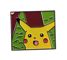 badge meme Pikachu Enamel Pin