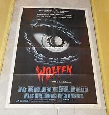 original WOLFEN one-sheet poster