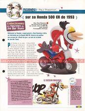 HONDA CR 500 1993 Joe Bar Team Fiche Moto #003413