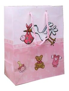 Pink stork baby gift bag save 30% when you buy 2 or more.