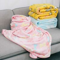 Gudetama Duffy Melody fuzzy soft Blanket Blankets quilt warm gift cartoon new