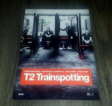 "T2 TRAINSPOTTING PP SIGNED 12""X8"" A4 PHOTO POSTER EWAN McGREGOR ROBERT CARLISLE"