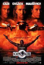 CON AIR Nicolas Cage John Cusack Double Sided Original Movie Poster 1997