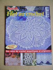 Magazine crochet  Sarah filet au crochet N°21 /AA30