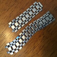 rare vintage mens GAY FRERES BEADS OF RICE stainless steel watch band parts BOR