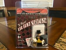 LEGO MAGICIAN BRAND RETAIL MANAGERS ATLANTA CONFERENCE 2017 RARER MR GOLD SDCC