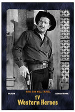 "4""X 6"" Magnet ""Have Gun Will Travel""- Tv show- Richard Boone"