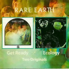 "Rare Earth:  ""Get Ready & Ecology""  (2on1 CD Reissue)"