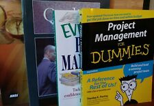 Project Management Book Lot 4 Titles All Like New! $15 + Free Shipping!