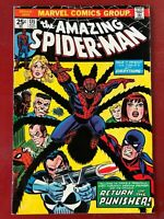 Amazing Spider-man #135, FN+ 6.5, 2nd Full Appearance of Punisher; MVS