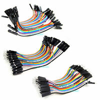 40pcs Dupont 10CM Male / Female Jumper Wire Ribbon Cable for Breadboard Arduino