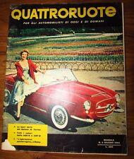 Quattroruote Giugno 1956 N. 5 originale