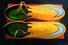 Nike MERCURIAL VAPOR X FG LASER ORANGE TAGLIA UK 11-Nuovo con Scatola