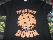 Arnold Schwarzenegger - put the cookie down T-shirt,christmas movie,