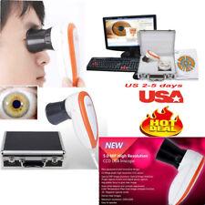 USA! 5M pixels Iriscope Iris Analyzer Iridology Camera +pro Iris Software Clinic