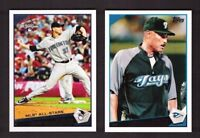 2009 Topps TORONTO BLUE JAYS Team Set w/ Update 27 Cards