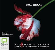 NEW MOON by STEPHANIE MEYER (Twilight Series pt. 2) - 12 Disc Audio CD Pack  NEW