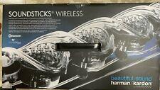 New listing Harman Kardon Soundsticks Wireless/Bluetooth Home speakers