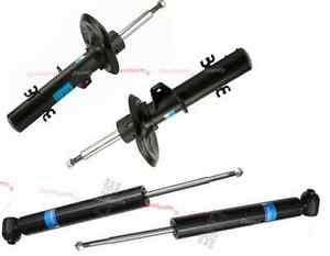 Dust Buffers SACHS BMW X3 E83 Rear Suspension 2x Shock Damper Absorber Struts