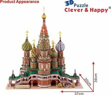 3D Puzzle Saint Basil's Cathedral (Russia)