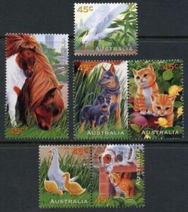 Australia: 1996 Pets (1558-1563) MNH