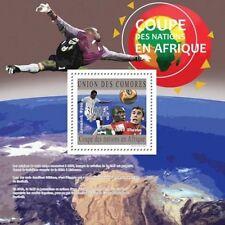 Football South Africa 2010 soccer Comores Comoros s/s Mi. Bl.599 MNH #CM10208b