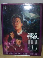 STAR TREK Debt of Honor Hardcover DC Comics